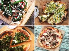 We've rounded up 11 of our favorite topping combinations that are perfect for grilled pizzas, from figs and goat's milk feta to halloumi and olives.