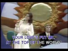 The Carpenters - Top Of The World karaoké Woodworking Guide, Custom Woodworking, Woodworking Projects Plans, Teds Woodworking, Sound Of Music, Kinds Of Music, Christmas Carols Songs, Oldies But Goodies, Music Film