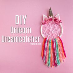 Unicorn Dreamcatcher - craftbits.com