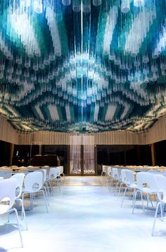 AWA Lighting Designers recently completed the project for the Monsoon Club at the Kennedy Center, Washington D.C.