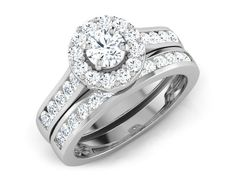 Bridal Ring Set by Carat Lane Yellow Diamond Rings, Diamond Bands, Wedding Rings Solitaire, Bridal Rings, Engagement Ring Settings, Engagement Rings, Wedding Planning Websites, Wedding Function, Eternity Bands