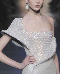 """mademoisellefashionn: """"cinderellas-stilettos: """"vogue-is-viral: """"Armani Prive, spring 2012. """" ۞ Cinderella's Stilettos ♛ Fashion & Luxury ۞ """" Bonjour, nous sommes Katarina et Violeta. Nous adorons la..."""