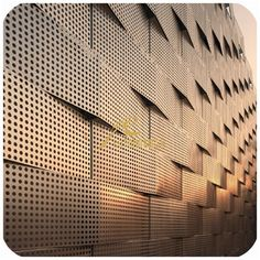 bronze aluminium facade' - Google Search