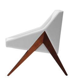 natural style chair Pretty and Plush White Simple Chairs