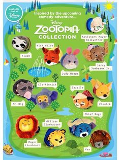Collection zootopie
