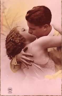 We're celebrating all things S W E E T in a passionate way at our 50 Shades of Pink ~ Valentine Soiree on Saturday, Februar. Vintage Couples, Vintage Love, Vintage Beauty, Vintage Candy, Vintage Pictures, Vintage Images, Historical Hairstyles, Old Fashioned Love, My Romance