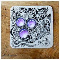 ZIA * Gems on a gray tile # Copada * Binda * Pintemps * half a Brrrst