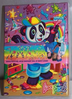 Other Stamping & Embossing Rare Lisa Frank Collectable Figures Panda Painter Rubber Stamp Figure Nip New Distinctive For Its Traditional Properties Stamping & Embossing