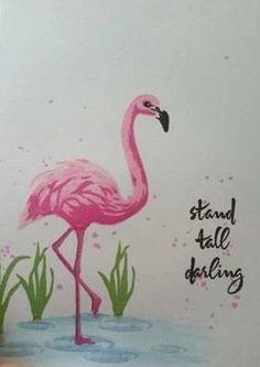 Color Layering Flamingo