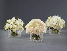 Discover FTD's beautiful wedding flowers and bouquets. From hand-crafted arrangements to boutonnieres and more, FTD has flowers for your picture-perfect wedding. Floral Wedding, Wedding Bouquets, Wedding Flowers, Wedding Stuff, Dream Wedding, Flower Decorations, Wedding Decorations, Vera Wang Wedding, Rose Centerpieces