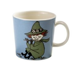 Snufkin Moomin mug from Arabia by Tove Jansson, Tove Slotte Moomin Shop, Moomin Mugs, Moomin Valley, Tove Jansson, Enchanted Doll, Porcelain Mugs, Ceramic Cups, Marimekko, Scandinavian Design