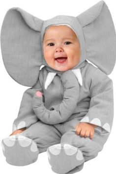 Unique Child's Infant Baby Elephant Halloween Costume (12-18 Months): Amazon.com: Clothing