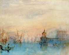 William Turner - Venice with a first crescent moon