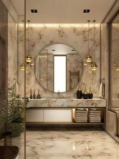 Bad Inspiration, Bathroom Inspiration, Bathroom Trends, Bathroom Sets, Bathroom Designs, Bathroom Renovations, Bathroom Makeovers, Brown Bathroom, Bathroom Small