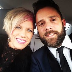 John and Korey going to Kari Jobes wedding