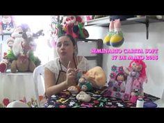 ♥♥ COLOMBINAS NAVIDEÑAS BY CREACIONES SUSA'N♥♥ - YouTube