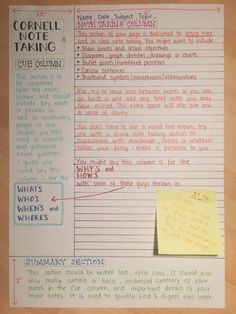 notes and study Bild Más