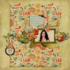 Seventeen- By Kylie- www.theshabbyshoppe.com/blog/ the gracie kit