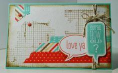 Scraps'! by Diana: #Stampin'Up! *Love Ya