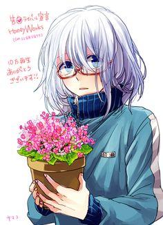 #honeyworks #glasses #anime