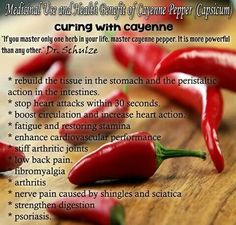 Red pepper flakes can cut artery-clogging LDL cholesterol in as little as two weeks. Capsaicin helps your liver break down excess fats and is a very effective anit-inflammatory. Get Healthy, Healthy Life, Healthy Foods, Healthy Living, Healthy Detox, Eating Healthy, Herbal Remedies, Natural Remedies, Natural Treatments
