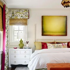 Suite Dreams  A texture-rich matelassé coverlet brings just a blush of color to a white spindle-style canopy bed. Teamed with sand-hue pillows, it creates a beachy, romantic mood in this Jacksonville, Florida, bedroom.