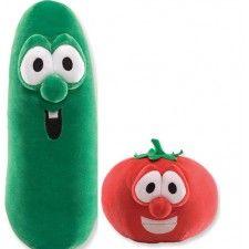 Veggie Tales on Pinterest | Veggies, Veggietales and Carrots Veggie Tales Larry The Cucumber And Bob The Tomato