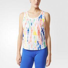 adidas - adidas STELLASPORT Tie-Dye Tank Top