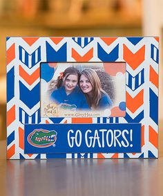 Look at this Florida Gators 'Go Gators' Frame on #zulily today!