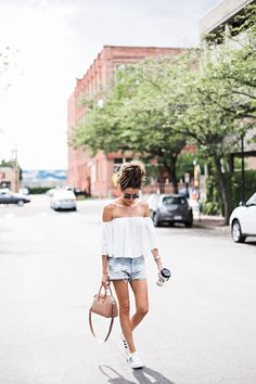 Cut Offs and Sneakers