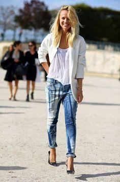 Produções lindas e inspiradoras com algumas das peças que mais adoramos em jeans!