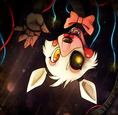I love how the mangle is all... Well... Mangled. But people draw her so beautiful cause she is even though she is broken
