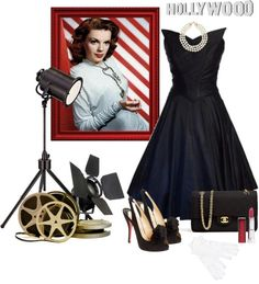 Hollywood 50's Glam! Super sexy and Classy!