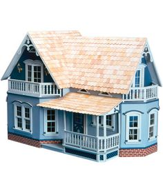 Greenleaf Dollhouse Kit-Magnolia