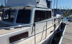 Side decks... #SyntheticTeak #Corvette320 #Boat #Yacht #MotorYacht