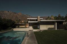 Moonlit Modernist Villas by Photographer Tom Blachford   Yatzer