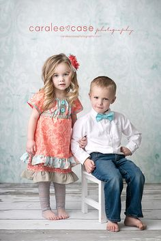 Hey, I found this really awesome Etsy listing at https://www.etsy.com/listing/178304170/sibling-set-coral-peasant-dress-and-boys