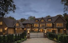 A luxury development in Buckinghamshire used Marley Acme Double Camber Clay Plain Dream Home Design, My Dream Home, House Design, Fancy Houses, Big Houses, Large Houses, Home Building Design, Building A House, Building Ideas