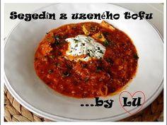 Originální recepty podle LU: Segedínský guláš z uzeného tofu - YouTube