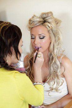 Wedding, Makeup, Eyes, Airbrush, Dramatic