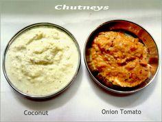 Coconut Chutney for Idli/dosas/pongal