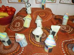 Today we have been doing some more work on Handa's Surprise. For early morning work we had to decorate and make a small hut like the . Eyfs Activities, Infant Activities, Educational Activities, Book Activities, Activity Ideas, Classroom Activities, Classroom Ideas, African Crafts Kids, Crafts For Kids