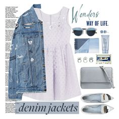 """""""THE DENIM JACKETS LOVE"""" by licethfashion ❤ liked on Polyvore featuring Chiara Ferragni, MICHAEL Michael Kors, Christian Dior, denimjackets, WardrobeStaples, polyvoreditorial and licethfashion"""