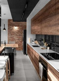 loft kitchen interior design idea