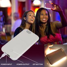 Selfie Light Selfie Flash for iPhone 6 Plus w/ Powerbank