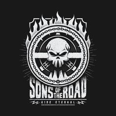 SONS OF THE ROAD T-Shirt - Mad Max T-Shirt is $11 today at TeeFury!