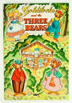 Whitman Goldilocks and the Three Bears Paper by AttysSproutVintage