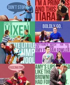 The Big Bang theory, Amy and Sheldon The Big Theory, Big Bang Theory Funny, Sheldon Amy, Jim Parsons, Music Theory, Best Shows Ever, New Music, Bigbang, Funny Memes