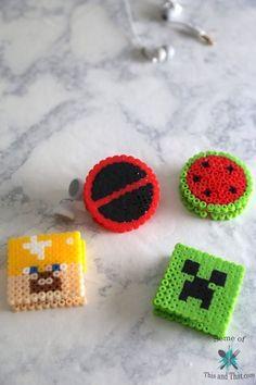 DIY Earbud Holder |DIY Minecraft and DIY Deadpool!