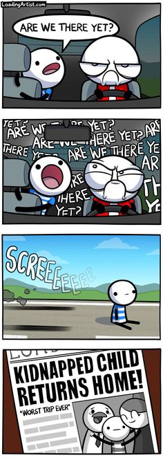 ARE WE THERE YET? - Tap to view the full comic!
